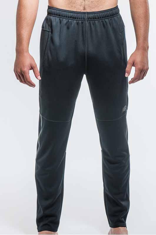 Image of man wearing athletic bottoms